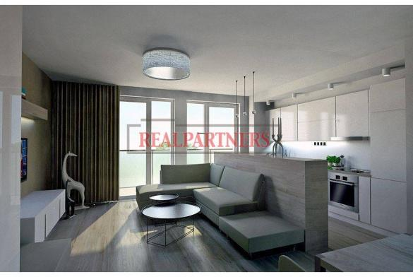 Nový 2+kk o ploše 63,56 m² + balkon 9,52 m² se Z orientací - kolaudace 9/2018.