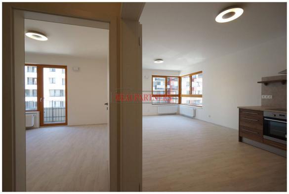 Pronájem zcela nového 2+kk o ploše 52 m² + 4 m² balkon + sklep.