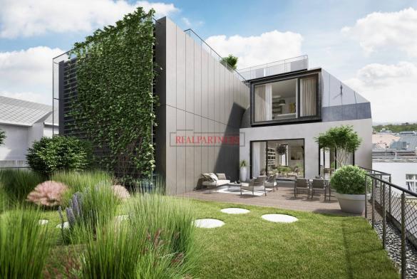 Mezonetový byt 5+kk o ploše 217 m² + 30,5 m² terasa na Praze 1 - Nové město.