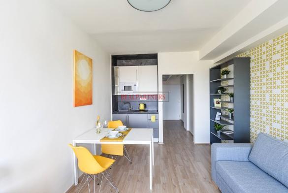 Ubytovací jednotka 1+kk o ploše 25,9  m² na Malvazinkách - Praha 5.