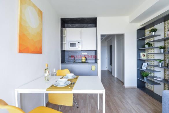 Ubytovací jednotka 1+kk o ploše 25,1  m² na Malvazinkách - Praha 5.