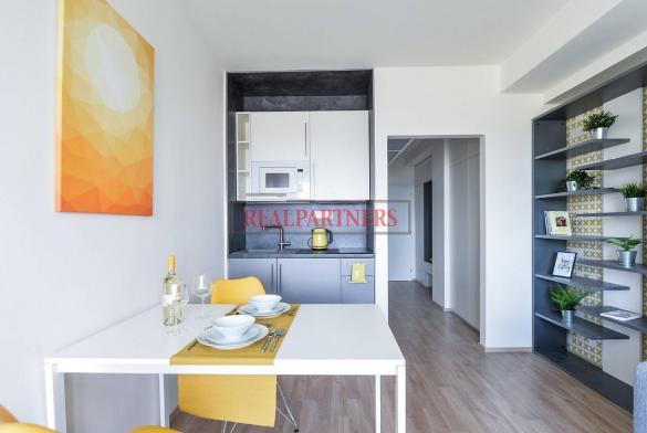Ubytovací jednotka 1+kk o ploše 27,3  m² na Malvazinkách - Praha 5.