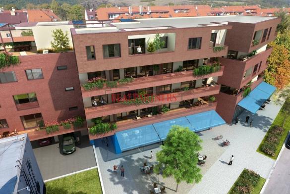 Nový byt 2+kk o ploše 55,6 m² + balkon 9,2 m² na Praze 6 - Liboc v blízkosti parku Divoká Šárka.