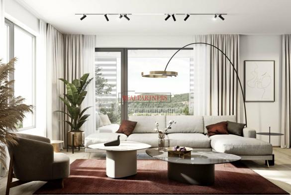 Nový byt 3+kk o ploše 88,1m + 17,5 m² balkon v nadčasové novostavbě u Vltavy.