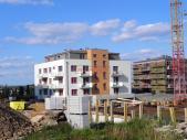 Nový byt 2+kk o ploše 52,7 m² + 7 m² balkon + 3,9 m² balkon.