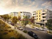 Nový byt 3+kk o ploše 83,4 m² + 7 m² balkon.