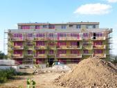 Nový byt 2+kk o ploše 52,8 m² + 7 m² balkon + 3,9 m² balkon.