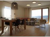 Nový 3+kk o ploše 74,2 m² + 2 x balkon 21,4 m² s JV orientací.