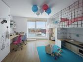 Nový 3+kk o ploše 99,21 m² + balkón 4,23 m² se ZS orientací a kolaudací léto 2018.