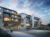 Nový byt 2+kk o ploše 55,3 m² + 11,1 m² balkon ve výstavbě.
