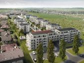 Nový byt 2+kk o ploše 56,6 m² + 13,1 m² terasa + 6,8 m² balkon ve výstavbě.