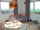 Nový byt 2+kk o ploše 54,5 m² + 7,4 m² balkon ve výstavbě.