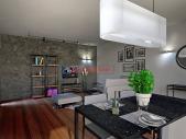 Nový 3+kk o ploše 99,21 m² + balkón 4,23 m² se ZS orientací - kolaudace 9/2018.
