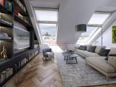 Mezonetový byt 3+kk o ploše 109,2 m² terasa na Praze 1 - Nové město.