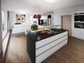 Nový 4+kk o ploše 136,91 m² + terasa 17,6 m² + balkon 4,1 m² s JVZ orientací - kolaudace 9/2018.