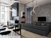 Zrekonstruovaný byt 3+kk o ploše 79,4 m² na Praze 1 - Nové město.